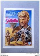 "HUMPHREY BOGART ""SAHARA"" Seconde Guerre Mondial Char 1943 Affiche Ancienne - Posters"