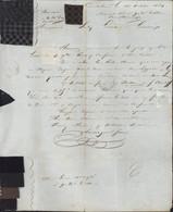 YT 14 Empire ND PC 647 + CAD Castres Sur L'Agout (77) 19 OCT 54 Echantillons De Tissus - 1849-1876: Classic Period