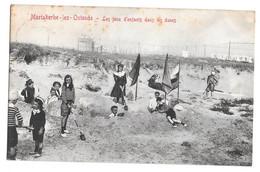 Mariakerke Lez Ostende Oostende Les Jeux D'enfants Dans Les Dunes   Edit V G 1906 - Oostende