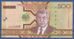 TURKMENISTAN - P.19 – 500 MANAT 2005   UNC  Prefix AA - Turkmenistan