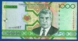 TURKMENISTAN - P.20 – 1.000 MANAT 2005   UNC  Prefix AA - Turkmenistan