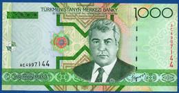 TURKMENISTAN - P.20 – 1.000 MANAT 2005   UNC  Prefix AC - Turkmenistan