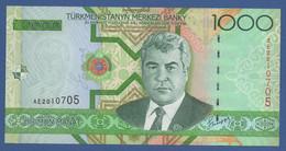 TURKMENISTAN - P.20 – 1.000 MANAT 2005   UNC  Prefix AE - Turkmenistan