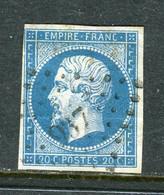 Superbe N° 14A Cachet PC 937 ( Conflans En Jarnisy ) - 1853-1860 Napoléon III.