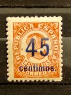 AÑO 1938 CIFRAS SELLO NUEVO EDIFIL 743 VALOR DE CATALOGO 40 EUROS - 1931-50 Nuovi