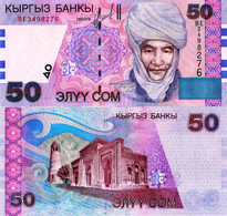 KYRGYZSTAN, 50 Som's, 2002, P20, UNC - Kyrgyzstan