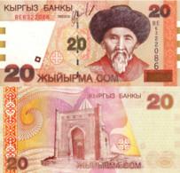 KYRGYZSTAN, 20 Som's, 2002, P19, UNC - Kyrgyzstan