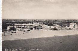 LIDO DI JESOLO-VENEZIA-ISTITUTO MARINO-CARTOLINA VERA FOTOGRAFIA- VIAGGIATA IL 26-4-1951 - Venezia (Venedig)