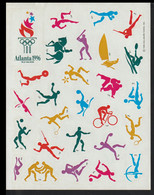 USA Stickers 1996 Atlanta Olympic Games (G128-52) - Sommer 1996: Atlanta
