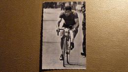 Cyclisme - CP Eugène Letendre Dédicacée - Coéquipier Jacques Anquetil - Professionnele 1954-63 - Ciclismo