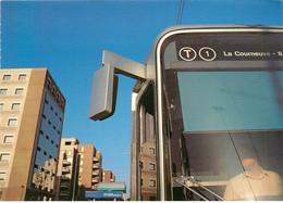 CPSM Illustration-Le Tramway En Seine Saint Denis-Photo Sergio Bravo        L430 - Non Classificati