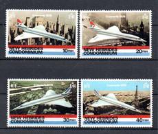 S1-2 Nouvelles Hébrides N° 531 à 534 ** à 10 % De La Côte !!! - Unused Stamps