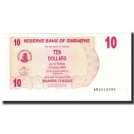 Billet, Zimbabwe, 10 Dollars, 2006, KM:39, NEUF - Zimbabwe