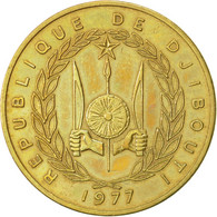 Monnaie, Djibouti, 20 Francs, 1977, Paris, TTB, Aluminum-Bronze, KM:24 - Djibouti