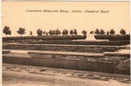 31nb 418 CPA - CANADIAN MEMORIAL DURY - ARRAS - CAMBRAI ROAD - Weltkrieg 1914-18