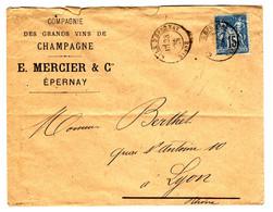 45189 - CHAMPAGNE  MERCIER - 1877-1920: Semi-Moderne