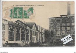 10 . Aube  :   Nogent  Sur Seine : La Malterie . - Nogent-sur-Seine