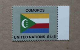 Ny17-05 : Nations-Unies (N-Y) / Drapeau Des Etats Membres De L' ONU - Comores - Neufs