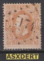 N° 33 LP 174 Heer   Coba 25 - 1869-1883 Leopold II