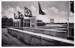 NUREMBERG - NURNBERG - Kongreßhalle Mit Ehrentribüne In Der Luitpoldarena - Drapeau Nazi - Nürnberg