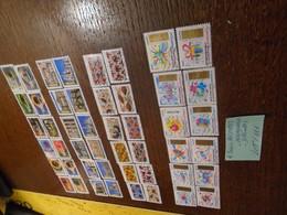 4 Séries  Differentes + RECENTES + AUTOADHESIVES   ++ 3 PHOTOS - Adhesive Stamps