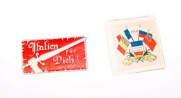 2 Erinofili / CINDERELLAS : WORLD WAR I / Prima Guerra Mondiale, 1914 - Zonder Classificatie
