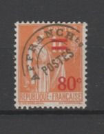 FRANCE PREO TYPE PAIX  N° 74 SG - 1893-1947