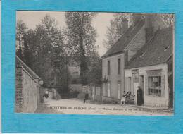 Moutiers-au-Perche ( Orne ). - Maison Guespin Et Vue Sur La Vallée. - ( Petit Village, Épicerie-Mercerie Guespin ). - Autres Communes