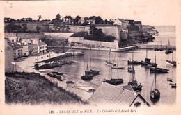 56 - Morbihan -  BELLE ILE En MER - La Citadelle Et L Avant Port - Belle Ile En Mer