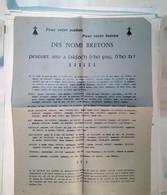 G 11  Facture? Entete Noms Bretons Pour Maison, Bateau - Ohne Zuordnung