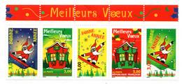 FRANCE / MEILLEURS VOEUX N° 3200 à 3204 NEUF * * - Ongebruikt