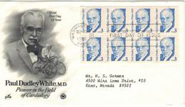 Paul Dudley White US-amerikanischer Kardiologe Begründer American Heart Association - Washington - Medicina