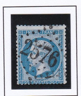GC 2576 MOYEUVRE LA GRANDE ( Dept 55 Moselle ) S / N° 22 - 1849-1876: Classic Period