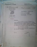 G 11  Facture Entete Distillerie A Russy - Alimentare
