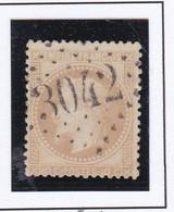 GC 3042 PUTTELANGE ( Dept 55 Moselle ) S / N° 28 - 1849-1876: Classic Period