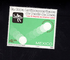1233777769 1981 SCOTT 1226 POSTFRIS (XX) MINT NEVER HINGED EINWANDFREI  - FIRST LATIN-AMERICAN TABLE TENNIS CUP - Mexico