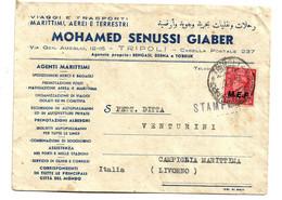 IKO059 / Libyen - Unter Britischer Verwaltung     M.E.F. 1947 - Libya
