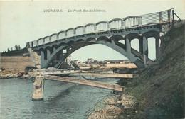 CPA 91 Essonne Vigneux Sur Seine Le Pont Des Sablières - Vigneux Sur Seine