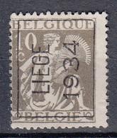 BELGIË - PREO - Nr 285 A (CERES) - LIEGE 1934 - (*) - Sobreimpresos 1932-36 (Ceres Y Mercurio)