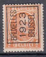 BELGIË - PREO - Nr 72 A - BRUXELLES 1923 BRUSSEL - (*) - Sobreimpresos 1922-31 (Houyoux)