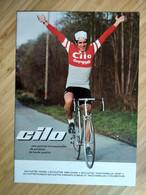 Cyclisme - Catalogue Cycles CILO Années 80  : En Couverture Serge DEMIERRE - Cycling