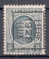 BELGIË - PREO - Nr 176 B - LIEGE 1928 LUIK - (*) - Sobreimpresos 1922-31 (Houyoux)