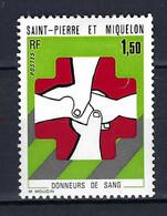 ⭐ Saint Pierre Et Miquelon - YT N° 436 * - Neuf Avec Charnière - 1974 ⭐ - Nuevos