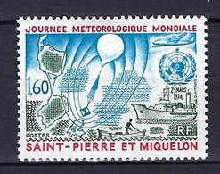 ⭐ Saint Pierre Et Miquelon - YT N° 433 * - Neuf Avec Charnière - 1974 ⭐ - Nuevos