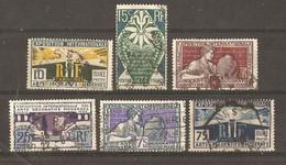 France 1925- Expo Internationale Des Arts Décoratifs Modernes à Paris - Série Complète° - 210/215 - Gebraucht