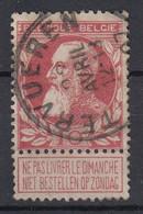 BELGIË - OPB - 1905 - Nr 74 - T1 L (TERVUREN) - COBA + 4.00 € - 1905 Barba Grossa