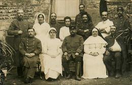 Meximieux * 6 Cartes Photos * Hôpital Militaire * Infirmières Croix Rouge Red Crosse Soldats Blessés * 1915 - Altri Comuni