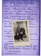 CPA 3107 - MILITARIA - Carte Photo Militaire - EPERNON - Soldat Raoul LANOUE Né à BONNEVAL Mort Pour La France En 1916 - Personajes