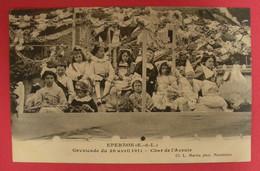 28 Epernon Cavalcade 1911 Le Char De L'Avenir TB Animée éditeur Martin Maintenon Dos Scanné N°B10 - Epernon