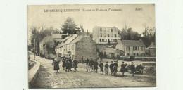 29 - LE RELECQ KERHUON - Route Du Passage , Camfrout Belle Animation état Correct - Autres Communes